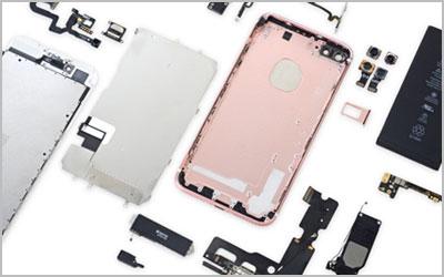 スマートフォン・タブレット部品卸販売のイメージ