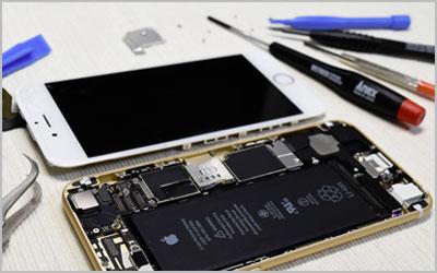 スマートフォン・タブレット修理業務のイメージ